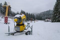 Sneeuwkanon Stock Foto's