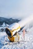 Sneeuwkanonnen Stock Afbeelding