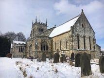 Sneeuwkerk Royalty-vrije Stock Foto