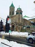 Sneeuwkerk Stock Afbeeldingen