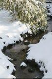 Sneeuwkreek Royalty-vrije Stock Afbeeldingen