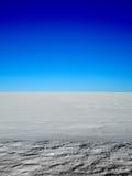 Sneeuwlandbouwbedrijf royalty-vrije stock afbeelding