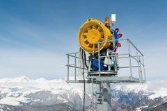 Sneeuwmachine Stock Afbeeldingen