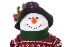 Sneeuwman Royalty-vrije Stock Afbeeldingen
