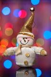 Sneeuwman Royalty-vrije Stock Foto
