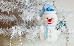 Sneeuwman. Stock Foto's