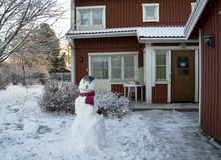 Sneeuwman Stock Afbeeldingen