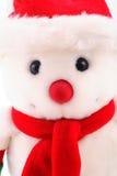 Sneeuwman in dichte omhooggaand Stock Afbeelding