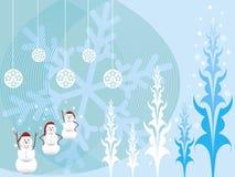 Sneeuwmannen Stock Foto