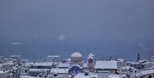 Sneeuwmening Stock Afbeelding