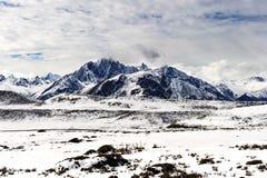 Sneeuwmountai Stock Foto