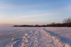 Sneeuwparadijs Royalty-vrije Stock Afbeeldingen