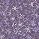 Sneeuwpatroon Stock Afbeeldingen