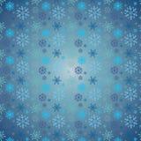 Sneeuwpatroon Stock Afbeelding