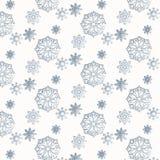 Sneeuwpatroon Royalty-vrije Stock Foto's
