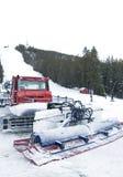 Sneeuwploeg Stock Fotografie