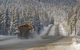 Sneeuwploeg Stock Afbeeldingen