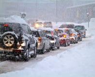 Sneeuwstorm Royalty-vrije Stock Afbeelding