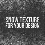 Sneeuwtextuur voor Uw Ontwerp stock illustratie