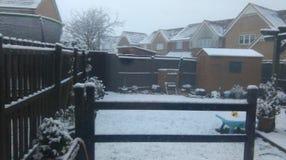 Sneeuwtuin in Armadale Stock Foto