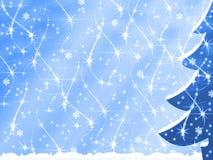 Sneeuwval Stock Foto's