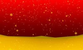 Sneeuwvalachtergrond Stock Afbeelding