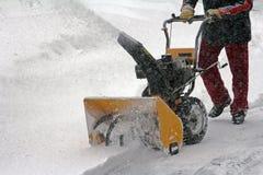 Sneeuwverwijdering Royalty-vrije Stock Afbeelding