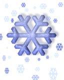Sneeuwvlok stock illustratie