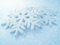 Sneeuwvlok stock afbeelding