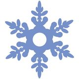 sneeuwvlok 02 vector illustratie