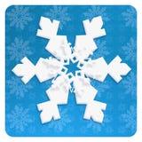sneeuwvlok Royalty-vrije Stock Foto's