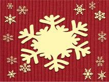 sneeuwvlok stock fotografie