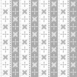 Sneeuwvlok geometrisch patroon Royalty-vrije Illustratie