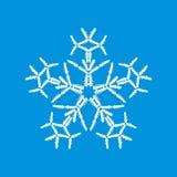 Sneeuwvlok van auto's wordt gemaakt die Royalty-vrije Stock Foto
