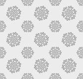 Sneeuwvlok vectorpatroon Stock Foto's