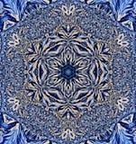 Sneeuwvlokcaleidoscoop Stock Afbeeldingen
