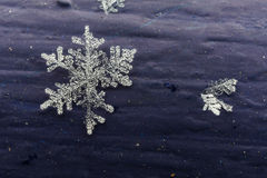 Sneeuwvlokdetail stock foto