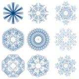 Sneeuwvlokken royalty-vrije stock foto's
