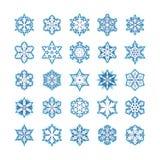 Sneeuwvlokken Royalty-vrije Stock Afbeelding
