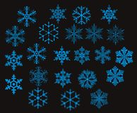 Sneeuwvlokken -   Royalty-vrije Stock Foto's