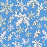 Sneeuwvlokken Stock Afbeelding