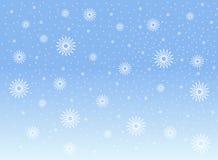 Sneeuwvlokken Stock Fotografie