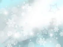 Sneeuwvlokken Stock Foto