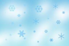 Sneeuwvlokken Stock Foto's