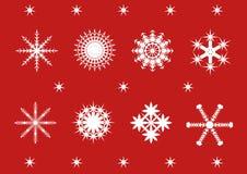 Sneeuwvlokken Royalty-vrije Stock Foto