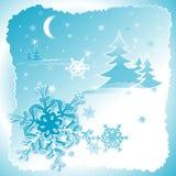 Sneeuwvlokken dance2 Royalty-vrije Stock Afbeelding