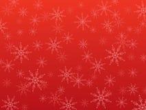 sneeuwvlokken de achtergrond van Kerstmis vector illustratie