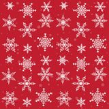 Sneeuwvlokkenpatroon Royalty-vrije Stock Fotografie