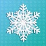 Sneeuwvloklicht Royalty-vrije Stock Afbeeldingen