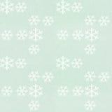 Sneeuwvlokpatroon stock afbeelding